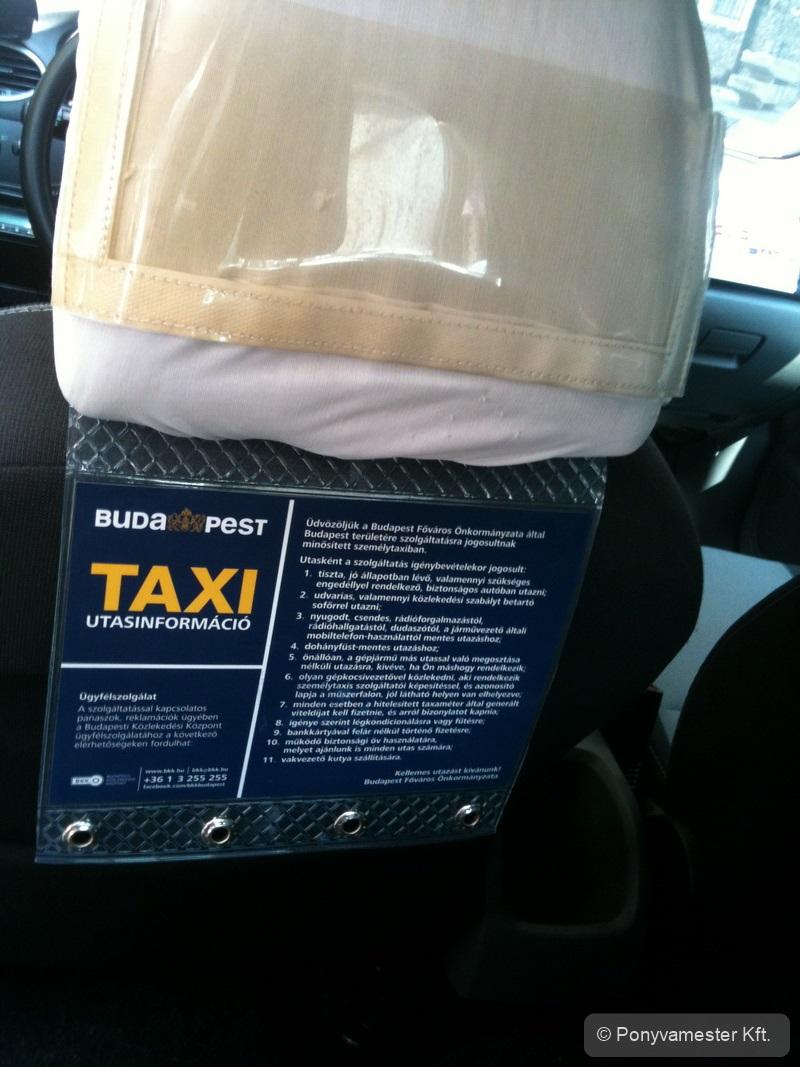 BKK taxi utasjogok