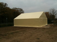 Raktár sátor