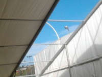 Ponyva sátor szerkezet