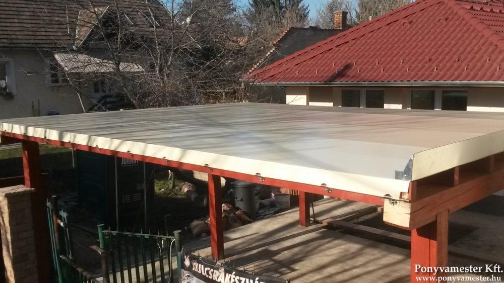 Egyedi terasz ponyva
