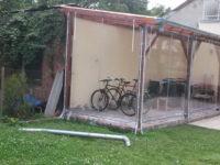 Egyedi kerékpár tároló