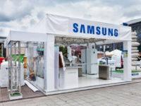 Samsung kiállító stand