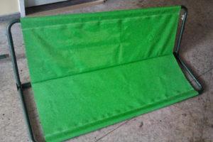 Zöld hintaponyva